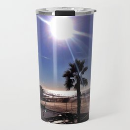 """Hermosa Beach """"Just Another Day"""" Travel Mug"""