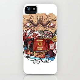 Vamp 55 ast crew shirt design iPhone Case
