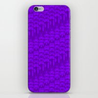 video game iPhone & iPod Skins featuring Video Game Controllers - Purple by C.Rhodes Design