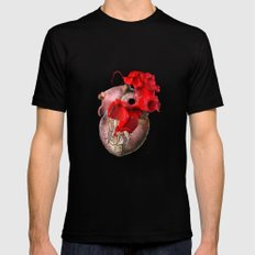Broken Heart - Fig. 2 Mens Fitted Tee Black MEDIUM