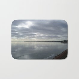 Icy Michigan Lake #3 Bath Mat