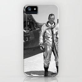 1547. Space Pioneer iPhone Case