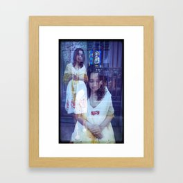 Liliana Framed Art Print