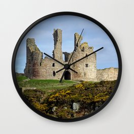 Dunstanburgh Castle Wall Clock
