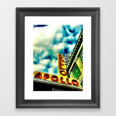 New York by iPhone 4 Framed Art Print