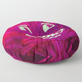 Positive Tropical Vibes Floor Pillow