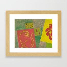 Feng Shui Mishap No. 665 Framed Art Print