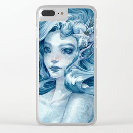 Black Pearl Clear iPhone Case