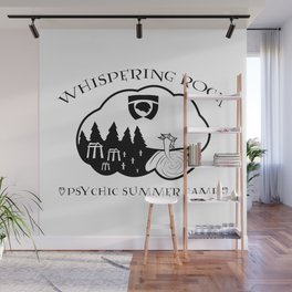 Whispering Rock Psychic Summer Camp Wall Mural