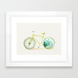 Have an Adventure Today Framed Art Print