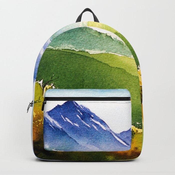Autumn landscape #1 Backpack
