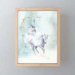 Unicorn magic Framed Mini Art Print
