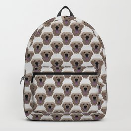 Golden Labrador Retriever Portrait Backpack