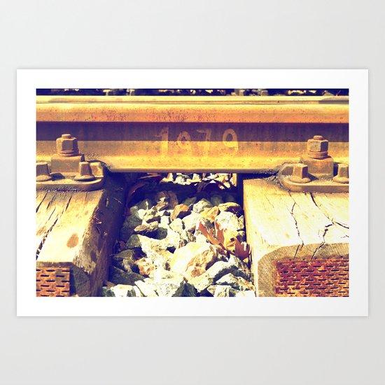 railway since 1979 Art Print