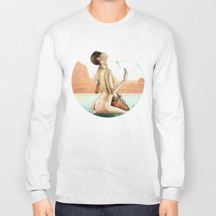 Furiosa's First Bath Long Sleeve T-shirt