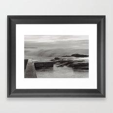 Whale Beach 4861 Framed Art Print