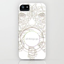 All Things Go. 3-D iPhone Case