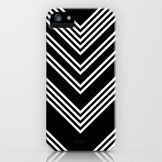 Back And White Lines Minimal Pattern No 3 Iphone Case By Alvestegui