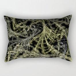 Yellow Magical Wisps Rectangular Pillow