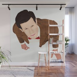 the eleventh doctor Wall Mural