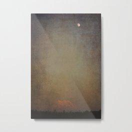 Mt. Rainier Blushing. Metal Print