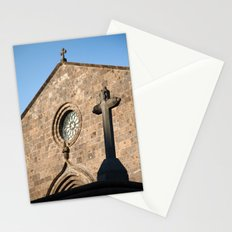 Church in Azores islands Stationery Cards