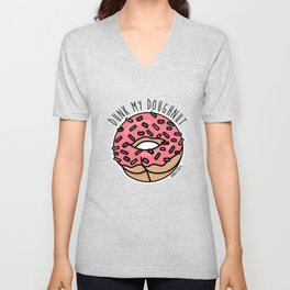 Dunk My Doughnut Unisex V-Neck
