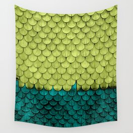 SHELTER / Arcadia / Lime Punch Wall Tapestry