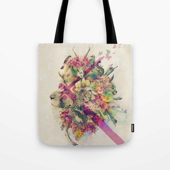 Kingdom of Monarchs Tote Bag