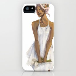 Flower Crowned | Allura iPhone Case