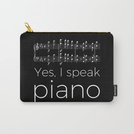 Yes, I speak piano Carry-All Pouch