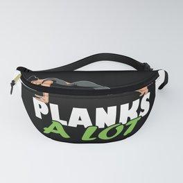 Yoga Planking Fanny Pack