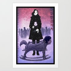 Sympathy for Lady Vengeance [full color] Art Print