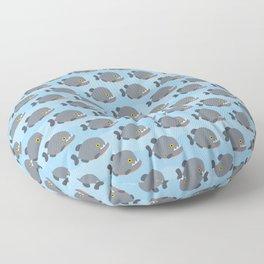 Piranhas pattern Floor Pillow