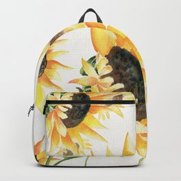 When Sunflowers Say Hello  Backpack