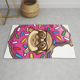 Kawaii Sloth Rug