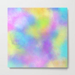 Rainbow Nebula   Mimi Bondi Metal Print
