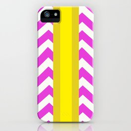 Olivia Summer Chevron iPhone Case