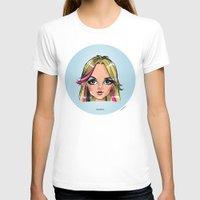 shameless T-shirts featuring Britney Cartoon: Shameless by Eduardo Sanches Morelli