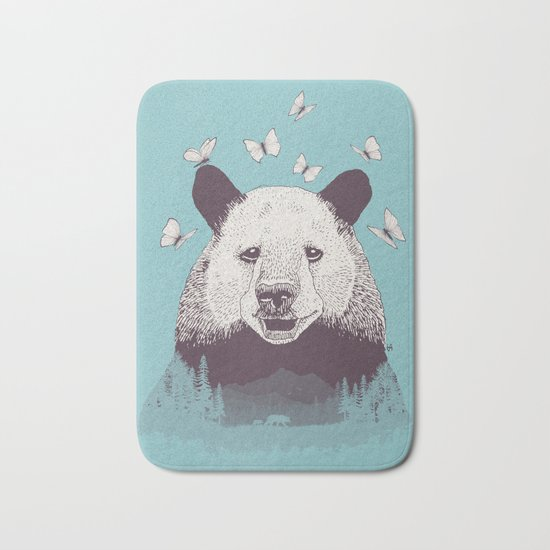 Let's Bear Friends Bath Mat