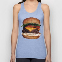 Cheeseburger Unisex Tank Top