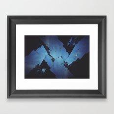Mountains Celebration Framed Art Print