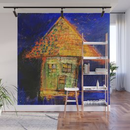Yellow roof Wall Mural