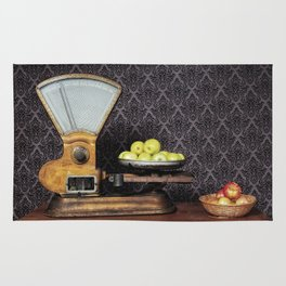 Apples on the Scale Rug