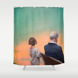 The wonderful stories of my grandfather Shower Curtain