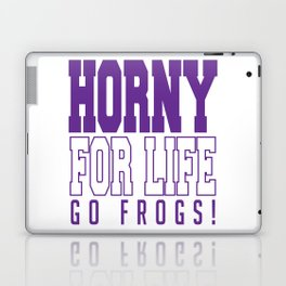 TCU, Horny For Life Laptop & iPad Skin
