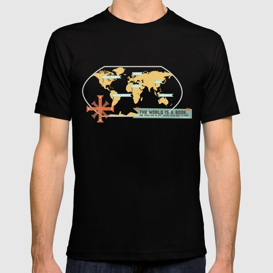 The World is a Book T-shirt