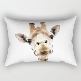 Giraffe Head Rectangular Pillow
