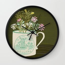 souvenir de pays-bas Wall Clock
