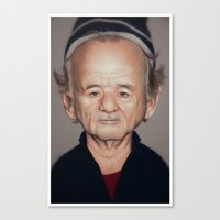 bill Canvas Prints featuring Bill by dbruce
